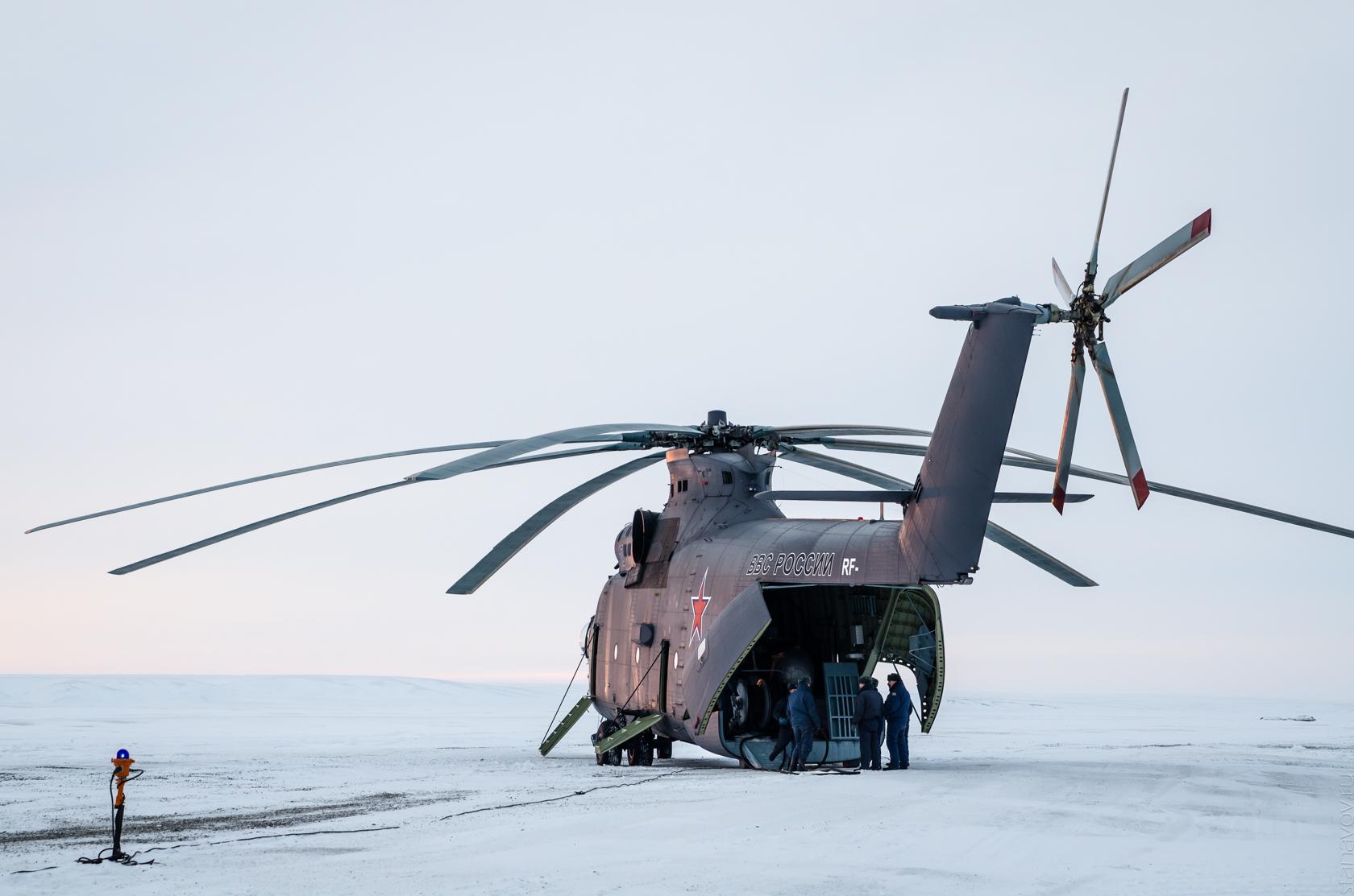 Новосибирские острова, военная база, остров Котельный