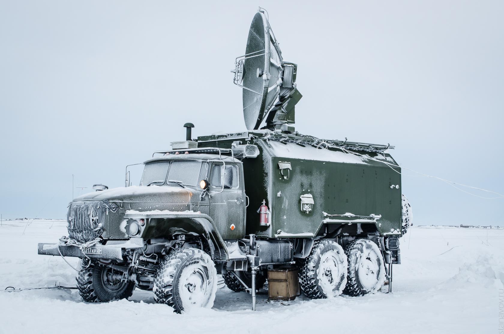 Военная база, Новосибирские острова, остров Котельный