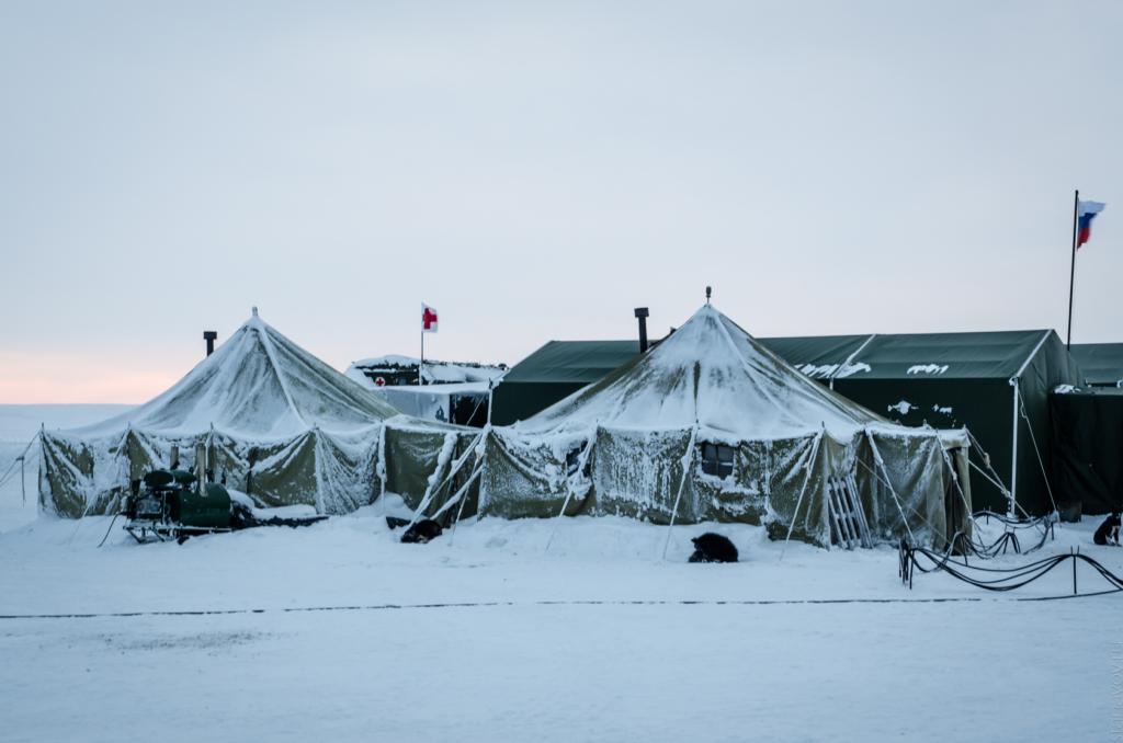 """Новосибирские острова, аэродром """"Темп"""", Якутия, военная база"""